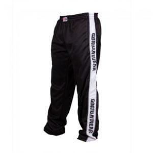 Pantaloni Trening Barbati - Negru cu banda alba