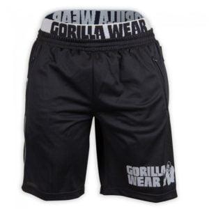 Pantaloni scurți California Mesh negru-gri