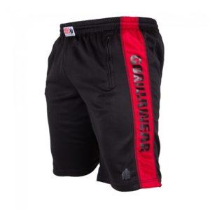 Pantaloni scurți Track Shorts negru-roșu