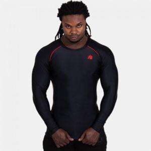Bluza Termica Hayden - Negru si Rosu