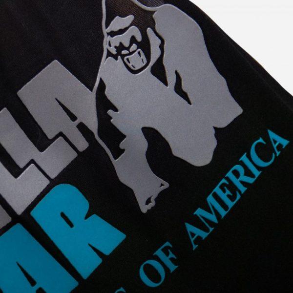 Maiou Nashville Fitness - Sala - Negru cu insertii albastre