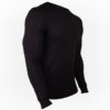Bluza WILLIAMS LONGSLEEVE - Neagra