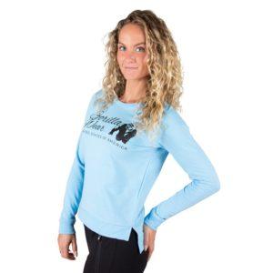 Bluza Femei Albastra Fitness gorilla wear