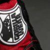 Adidași Fitness Perry High Tops Pro Roșii cu inserții negre
