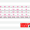 Tabel mărimi Adidași Perry High Tops Pro Roșii cu inserții negre