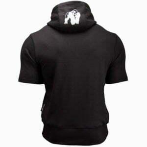 Hanorac cu mânecă scurtă Boston Negru - Imbracaminte sport gorilla wear