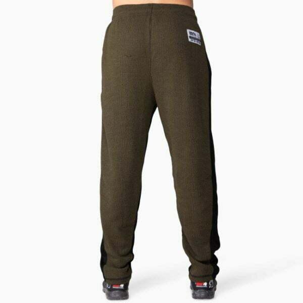 Pantaloni Barbati Augustine AntrenamentOld School Verde Militar GorillaWear
