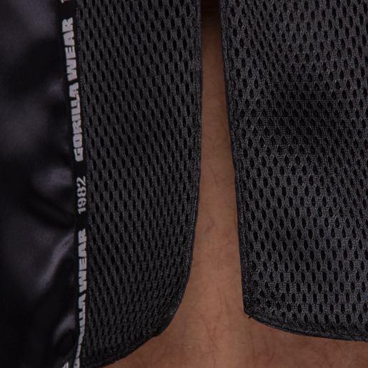 Pantaloni KickBoxing Barbati Murdo Muay Thai - Negru lucios