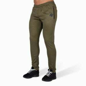 Pantaloni jogger Barbati Bridgeport - Verde Militar GorillaWear