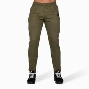Pantaloni jogger Bridgeport - Verde Militar - Fitness Gorilla Wear