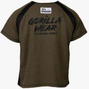 Tricou Barbati Antrenament Augustine Old School - Verde Militar GorillaWear