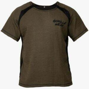 Tricou Barbati Fitness Augustine Old School - Verde Militar GorillaWear