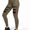 Colanti Fitness Dama Savannah Verde Militar Camuflaj - Echipament Sala Femei