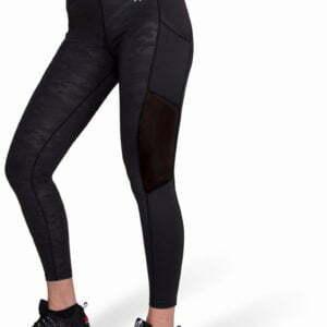 Colanti Sport Damă Savannah Negru Camuflaj - Colanti fitness femei