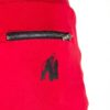 Detalii - Pantaloni Scurti cu Tur Alabama Rosii Haine fitness