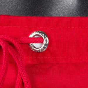 Detalii - Pantaloni Scurti cu Tur Alabama Rosii - Pantaloni barbati