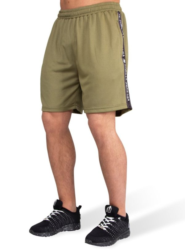 Pantaloni Scurti Barbati Plasa Reydon - Negru Haine Fitness Barbati