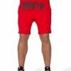 Pantaloni Scurti cu Tur Alabama Rosii - Haine sport (2)