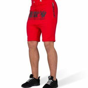 Pantaloni Scurti cu Tur Alabama Rosii - Pantaloni cu tur lasat barbati
