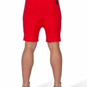 Pantaloni Scurti cu Tur Alabama Rosii pentru barbati fitness si bodybuilding