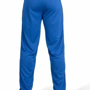 Pantaloni Trening Albastri Barbati din Plasa Gorilla Wear Haine Fitness