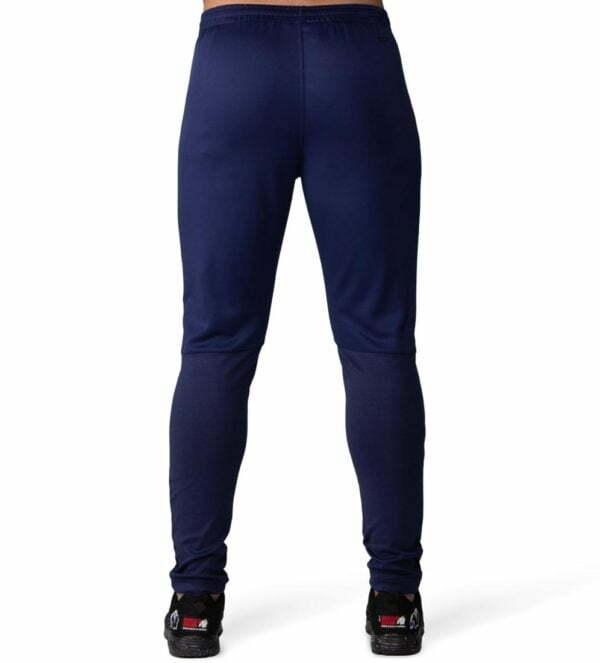 Pantaloni Trening Ballinger - Albastru cu Negru Pantaloni fitness