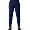 Pantaloni Trening Ballinger - Albastru cu Negru - Pantaloni sport barbati
