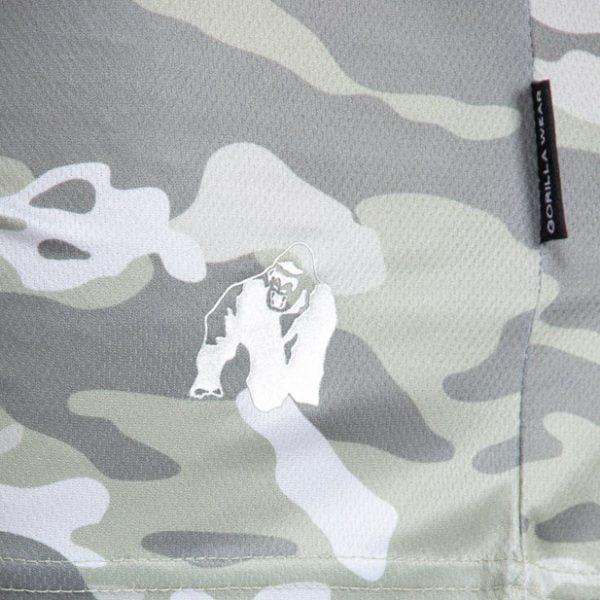 Pantaloni scurti barbati - Verde militar - kansas - Haine Fitness