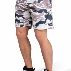 Pantaloni scurti barbati kansas - Bej Camuflaj - Pantaloni scurti fitness