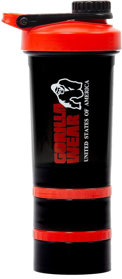 Shaker Proteine compartimentat Gorilla Wear accesorii Gorilla Wear