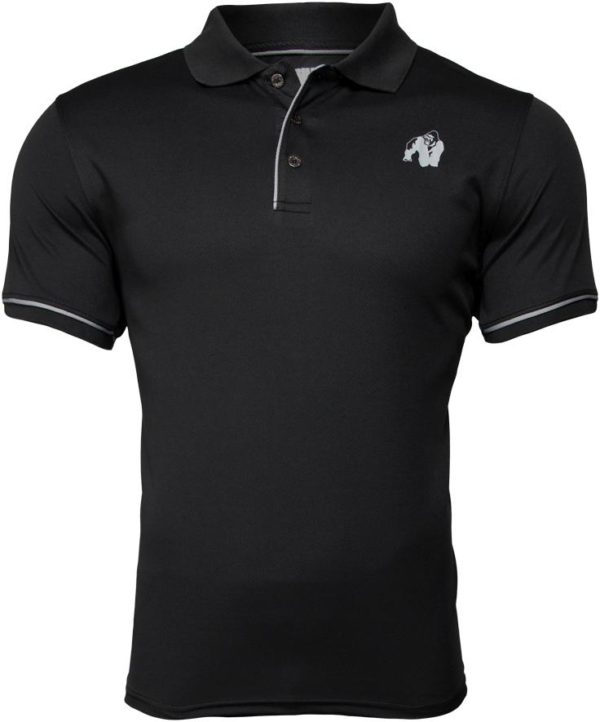 Tricou Polo Barbati Negru Forbes - Gorilla Wear