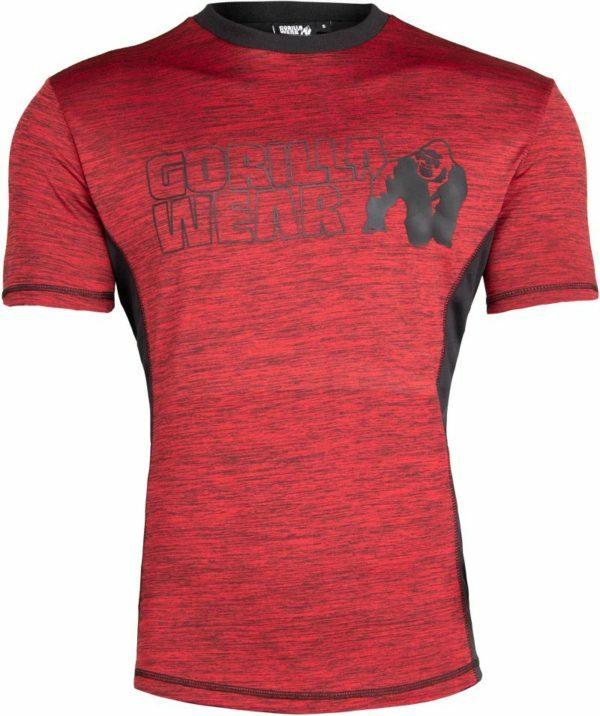 Tricou barbati rosu - Austin Gorilla Wear