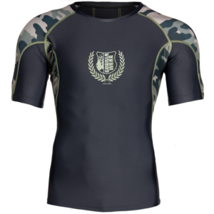Tricou Fitness Mulat - Rashguard - Verde Militar