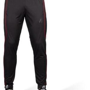 Pantaloni Trening Barbati Branson - Negri cu insertii rosii