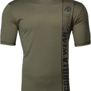 Tricou barbati branson verde militar - army green - Echipament sala barbati