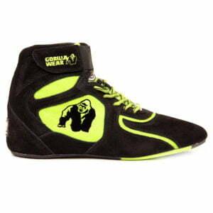 Adidasi Barbati Chicago High Tops - Negru cu Neon - Adidasi Fitness