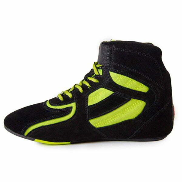 Adidasi Barbati Chicago High Tops - Negru cu neon - Adidasi GorillaWear