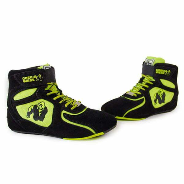 Adidasi Barbati Chicago High Tops - Negru cu neon - Adidasi Sport