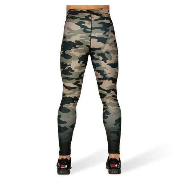 Colanti pentru barbati Franklin - Verde Militar Camuflaj - Colanti Sport