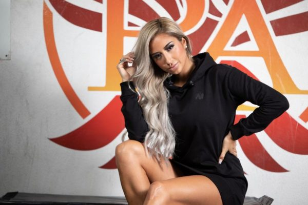 Hanorac Femei Alexandria - Negru - Hanorac Fitness