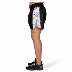Pantaloni Henderson Muay Thai - Negru cu gri - Echipament Sport