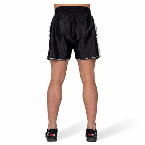 Pantaloni Henderson Muay Thai - Negru cu gri - Pantaloni Sport