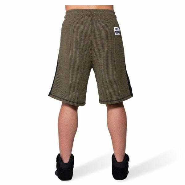 Pantaloni Scurti Barbati Augustine Old School - Verde Militar - Pantaloni GorillaWear