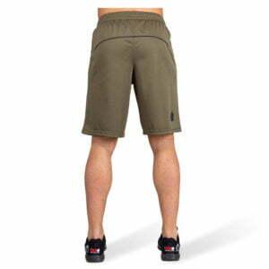 Pantaloni Scurti Barbati Branson - Verde Militar - Pantaloni Fitness