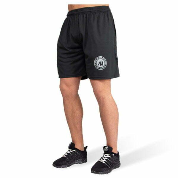 Pantaloni Scurti Barbati Forbes - Negru - Pantaloni Alergare
