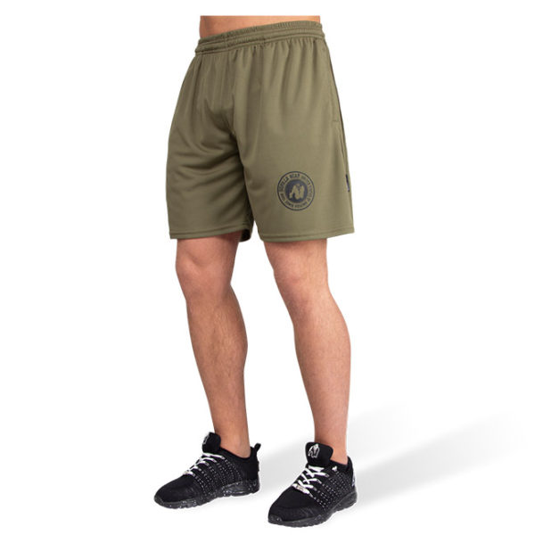 Pantaloni Scurti Barbati Forbes - Verde Militar - Pantaloni Antrenament