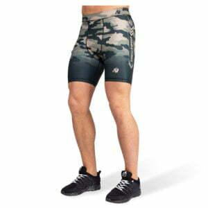 Pantaloni Scurti Barbati Franklin - Verde Militar Camuflaj - Pantaloni Antrenament
