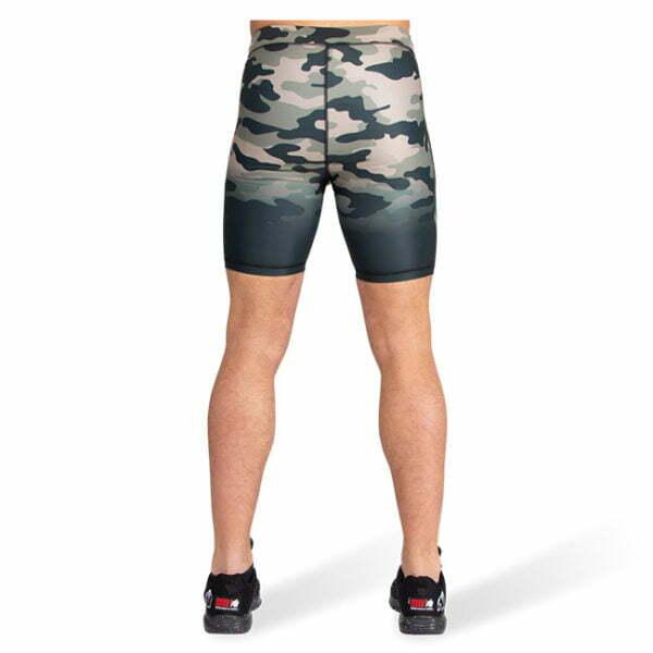 Pantaloni Scurti Barbati Franklin - Verde Militar Camuflaj - Pantaloni Sala
