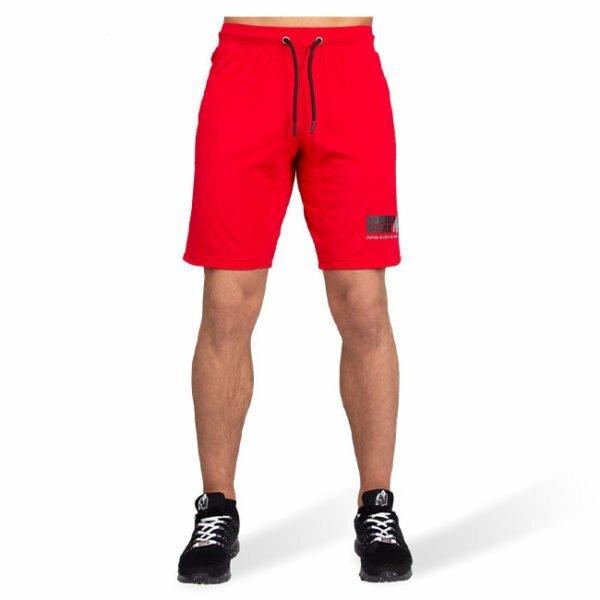 Pantaloni Scurti Barbati San Antonio - Rosu - Pantaloni Antrenament