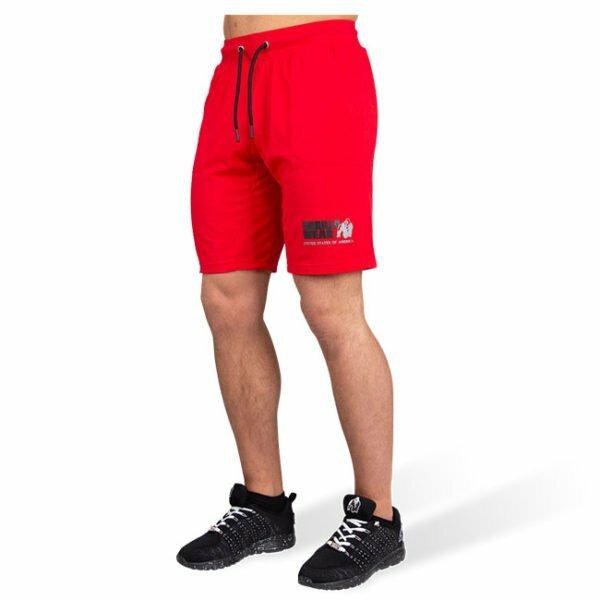 Pantaloni Scurti Barbati San Antonio - Rosu - Pantaloni Fitness